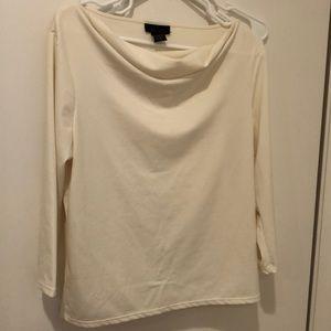 White blouse. Size L